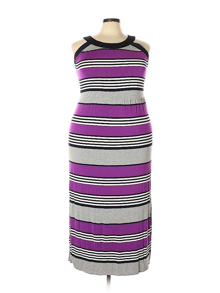 A.n.a. A New Approach Women Casual Dress Size 1X (Plus)