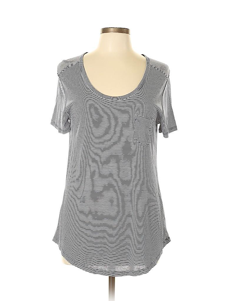 Joe Fresh Women Short Sleeve T-Shirt Size S