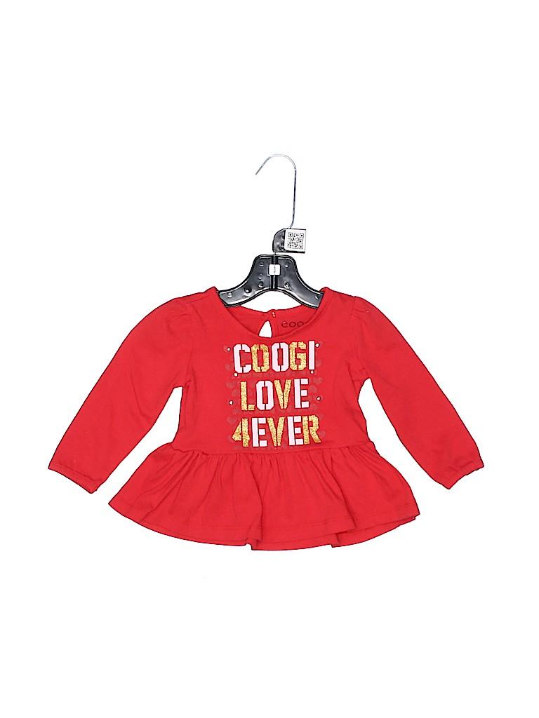 Coogi Girls Long Sleeve Top Size 12 mo