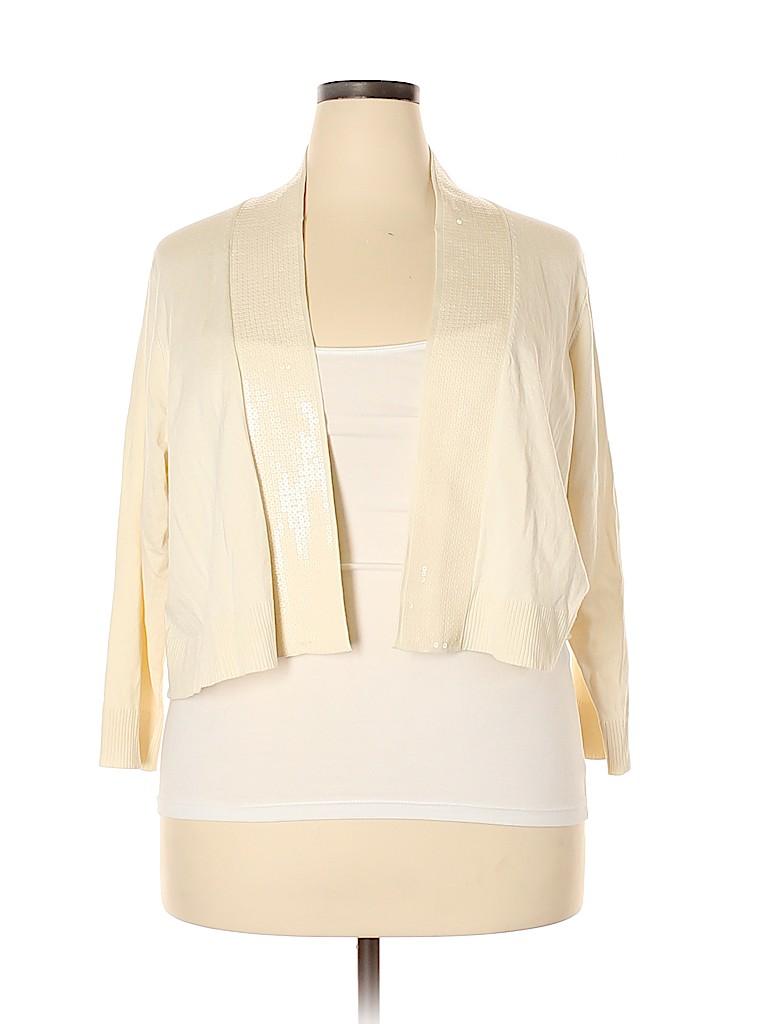 Covington Women Cardigan Size 3X (Plus)