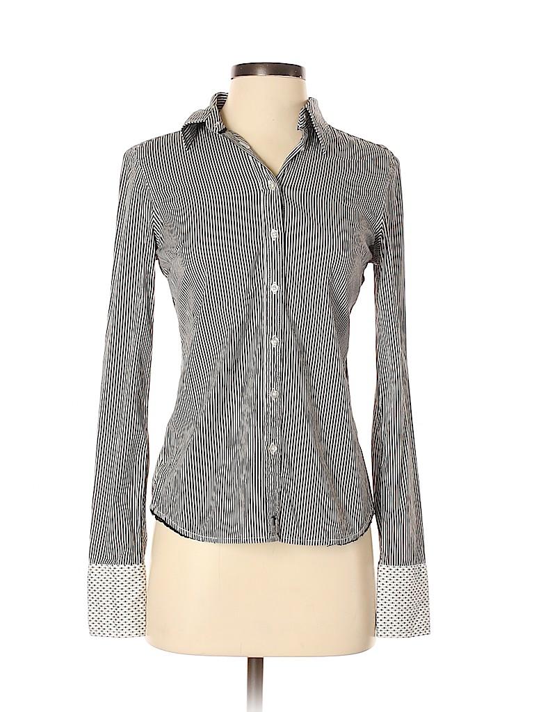 Jacob Women Long Sleeve Button-Down Shirt Size XS