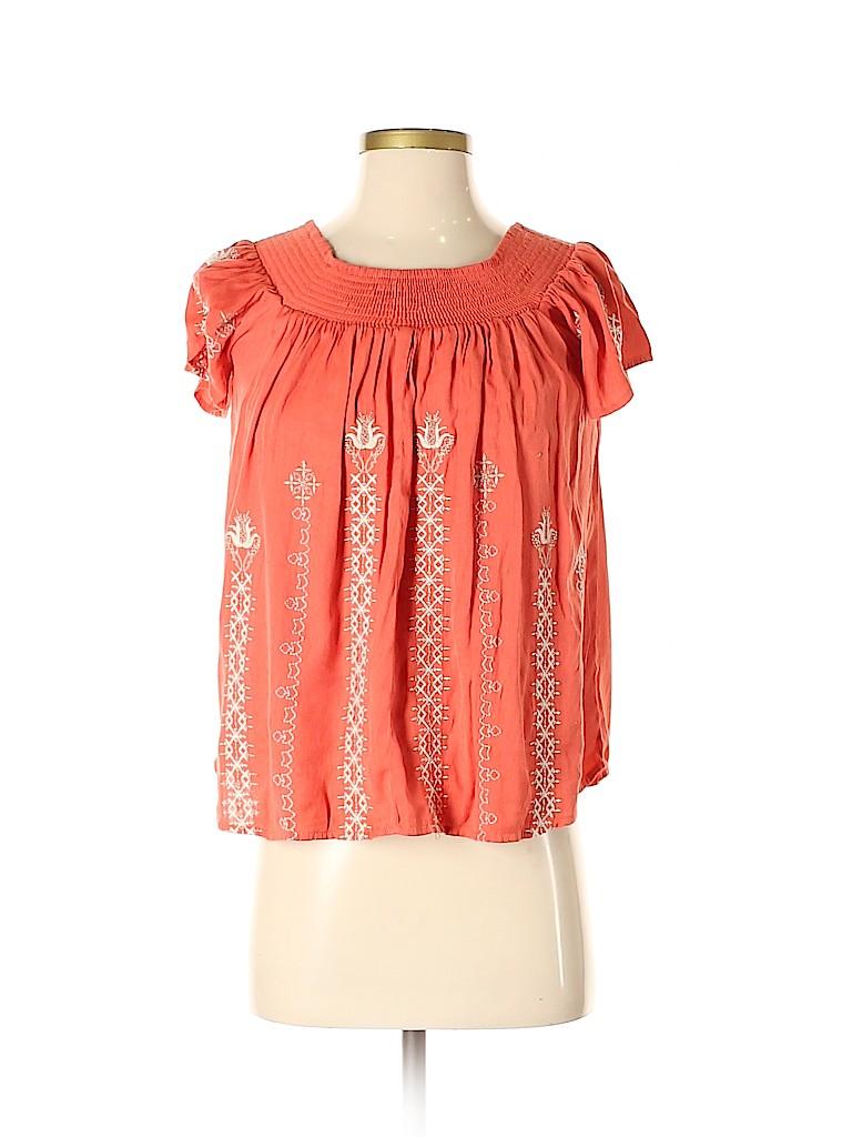 Greylin Women Short Sleeve Blouse Size XS