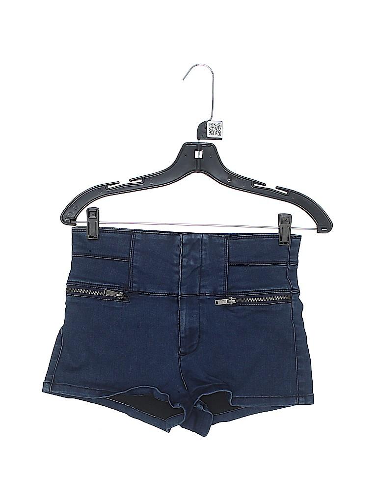 Forever 21 Women Denim Shorts 34 Waist