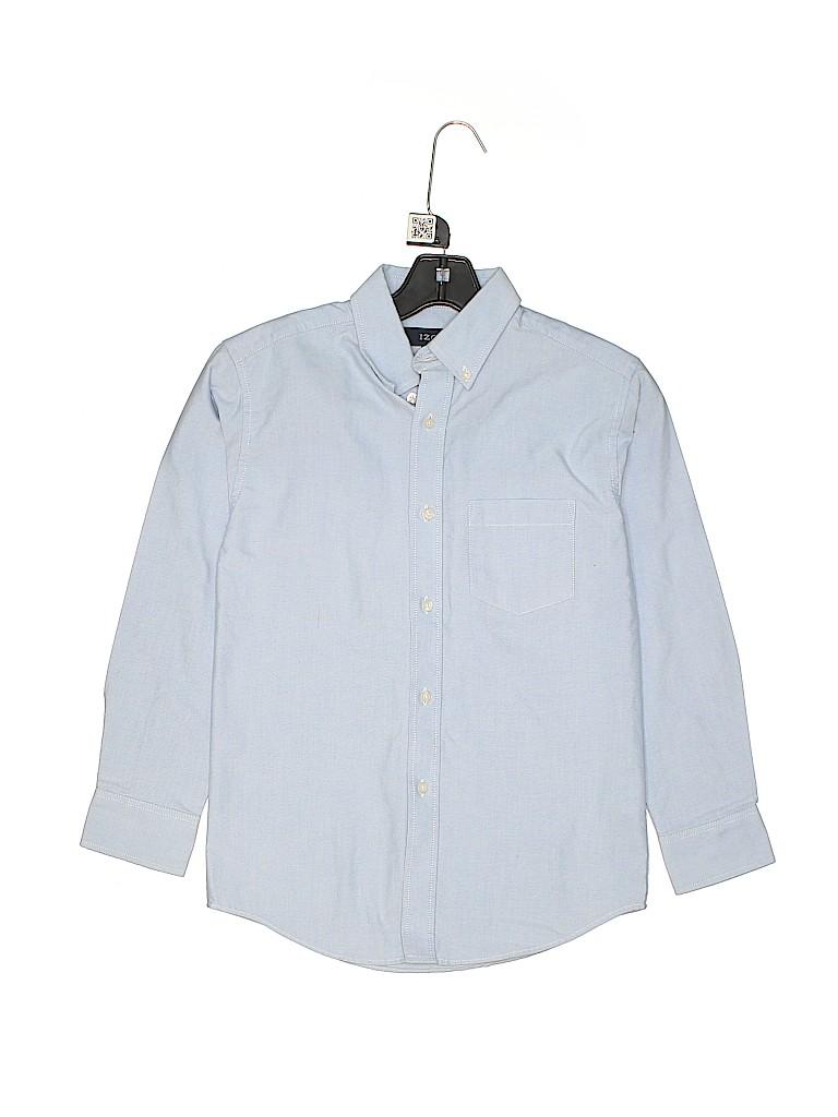 IZOD Boys Long Sleeve Button-Down Shirt Size 10 - 12