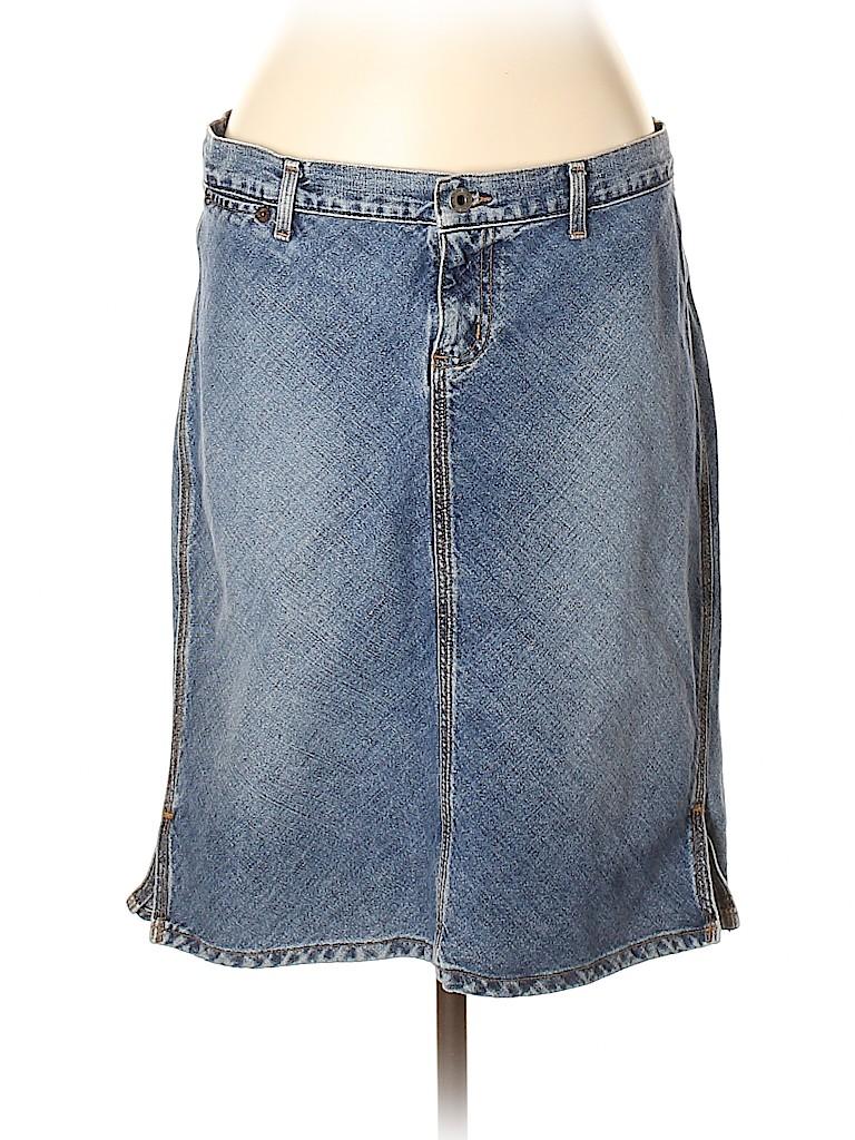 Guess Jeans Women Denim Skirt 34 Waist