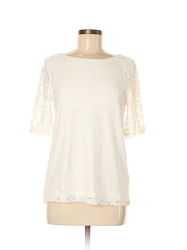Reiss Women Short Sleeve Top Size M