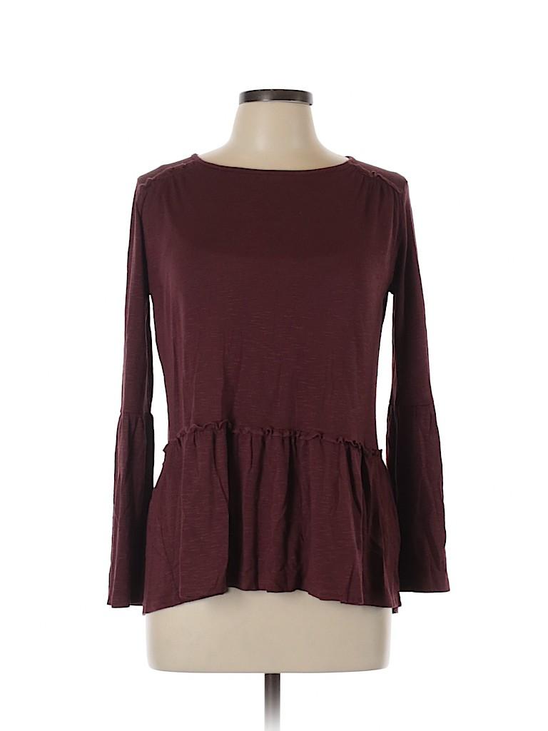 Orange Creek Women 3/4 Sleeve Top Size L