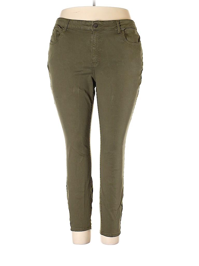 WARP + WEFT Women Jeans Size 20 (Plus)