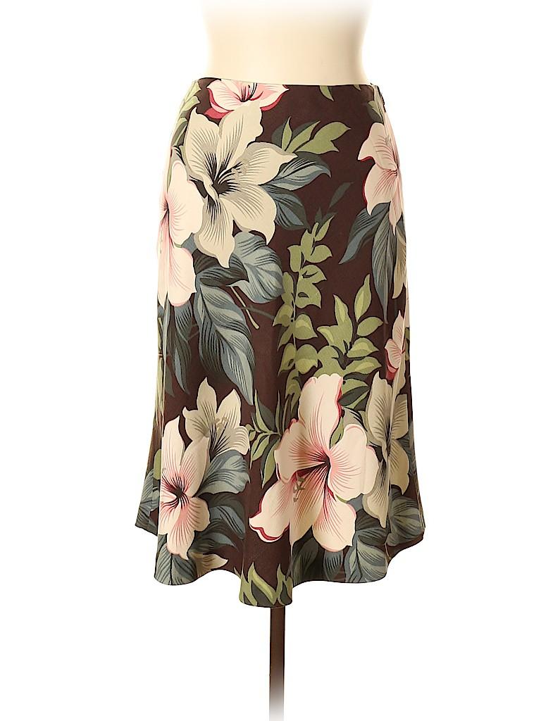 Tommy Bahama Women Silk Skirt Size 6