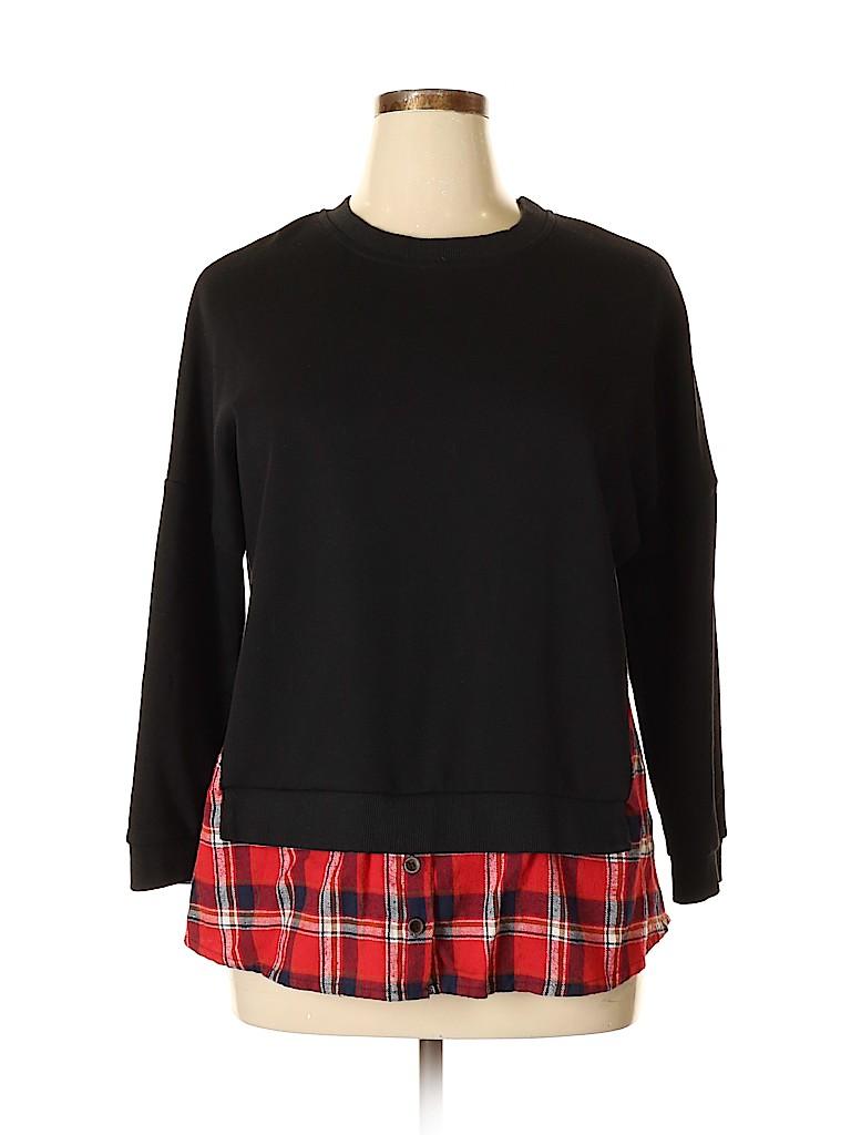 Amaryllis Women Sweatshirt Size L