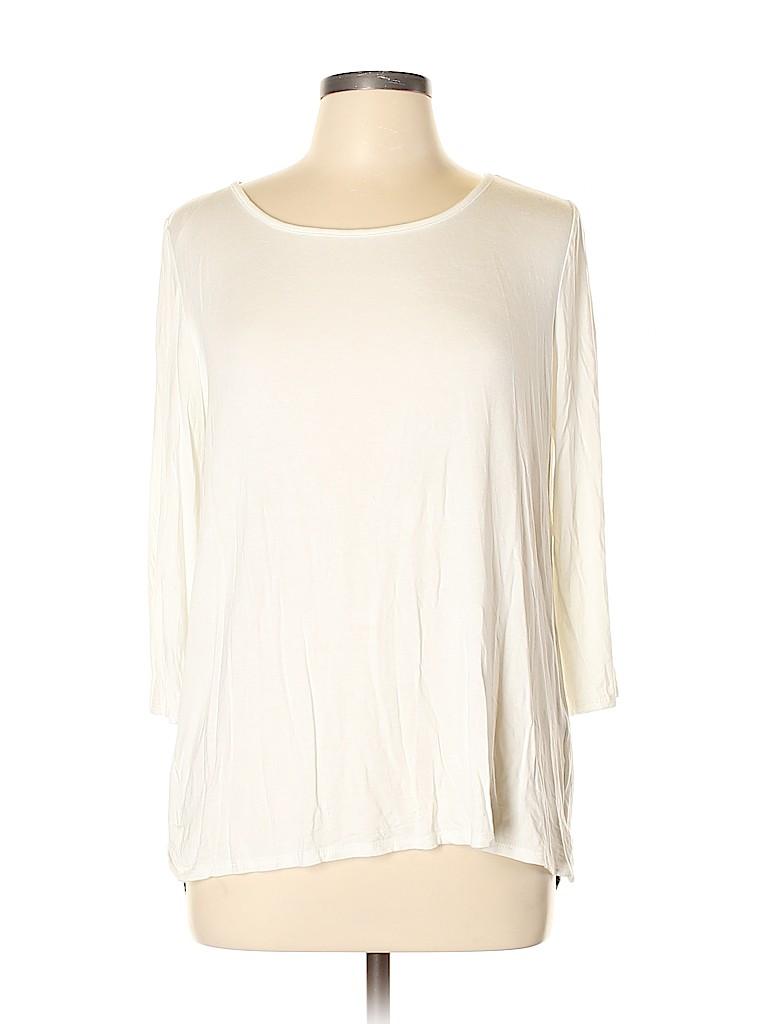 Le Lis Women 3/4 Sleeve Top Size L
