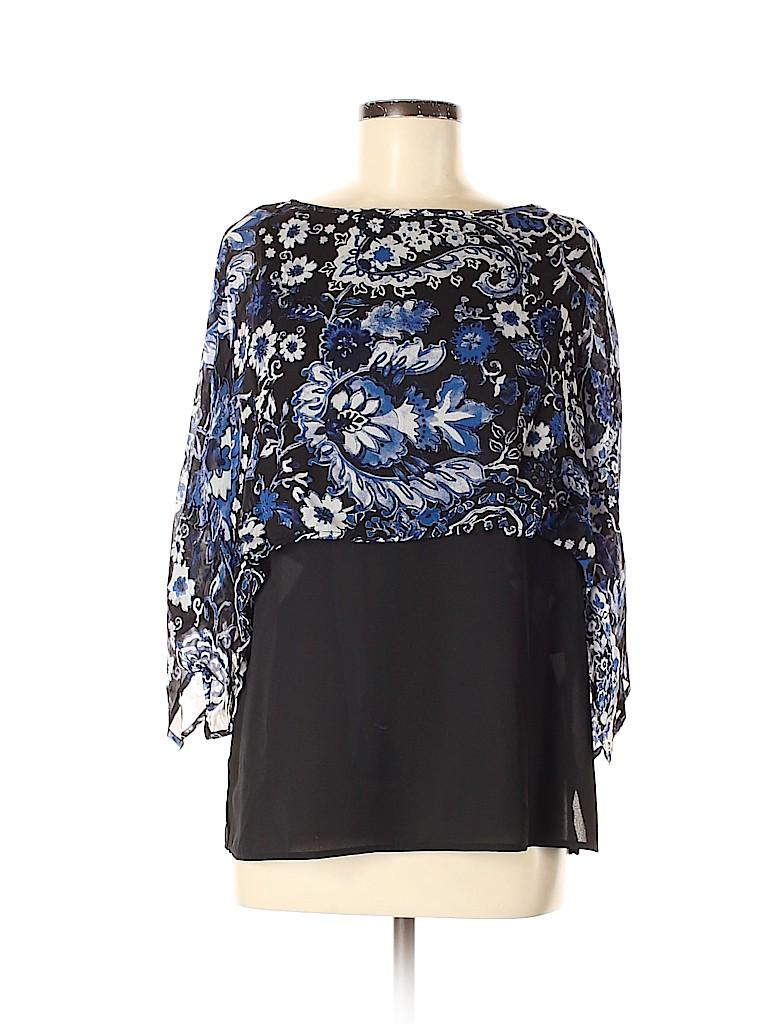 Karen Kane Women 3/4 Sleeve Blouse Size M