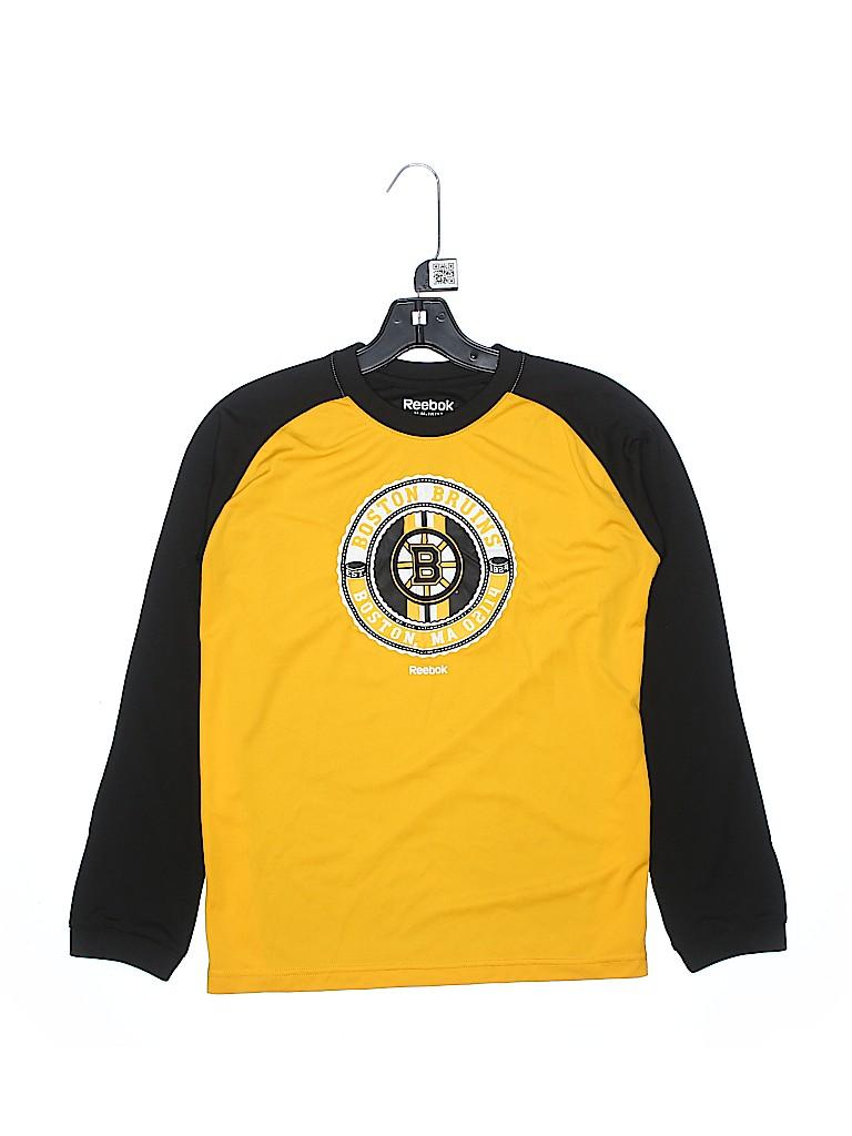 Reebok Boys Long Sleeve T-Shirt Size 10 - 12
