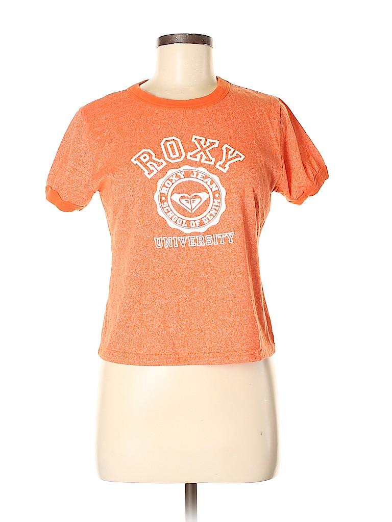 Roxy Women Short Sleeve T-Shirt Size M