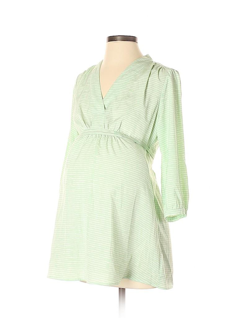 Liz Lange Maternity Women 3/4 Sleeve Blouse Size XS (Maternity)