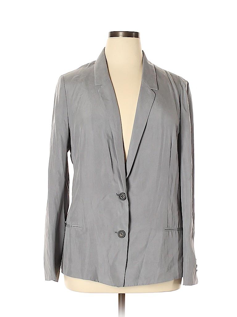 J. Crew Women Silk Blazer Size 14