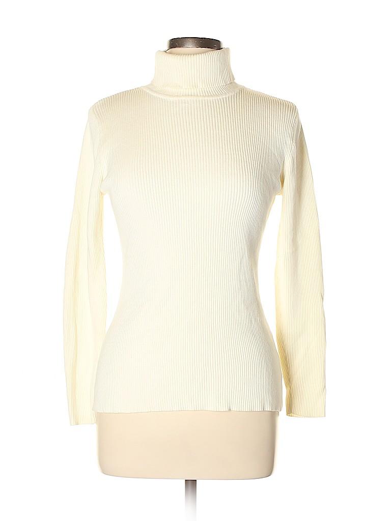 Relativity Women Turtleneck Sweater Size L