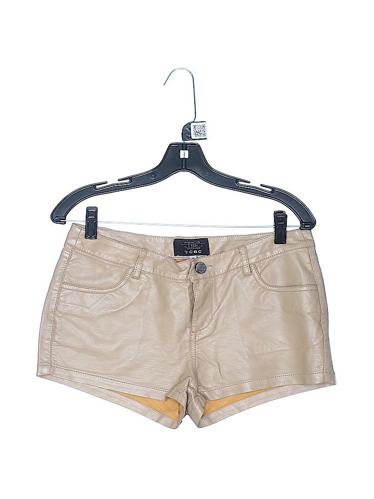 TCEC Women Faux Leather Shorts Size M