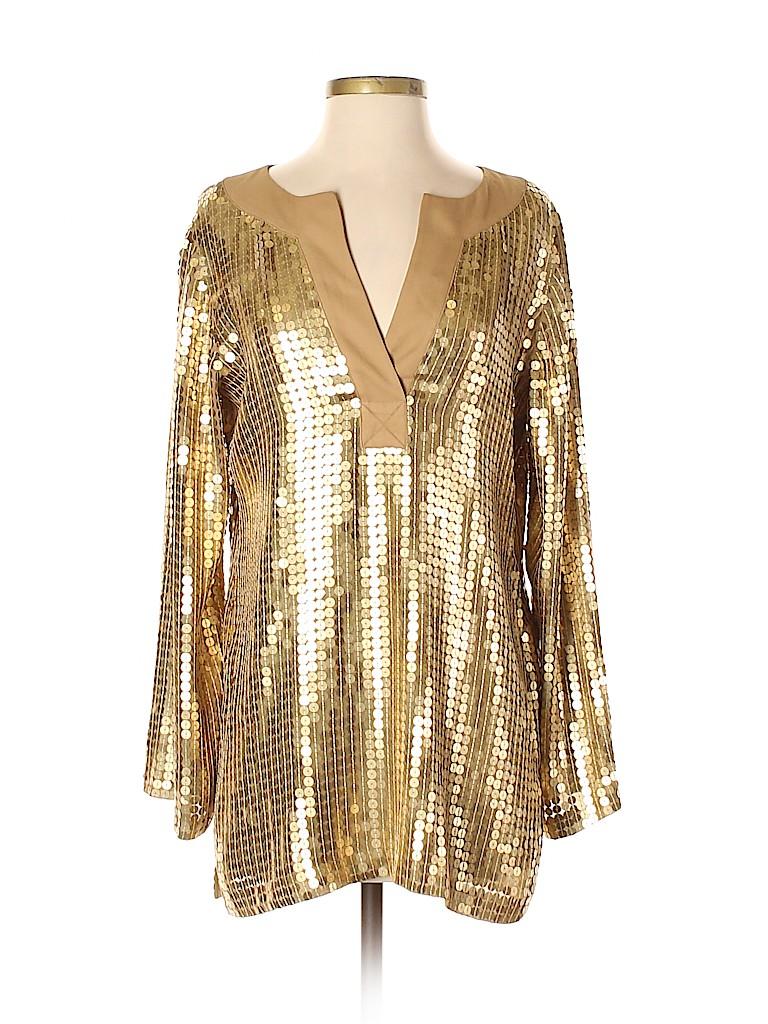 MICHAEL Michael Kors Women Long Sleeve Blouse Size S