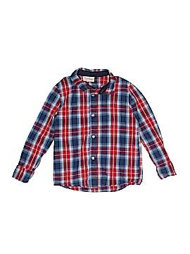 Beetle Thread Long Sleeve On Down Shirt Size 6