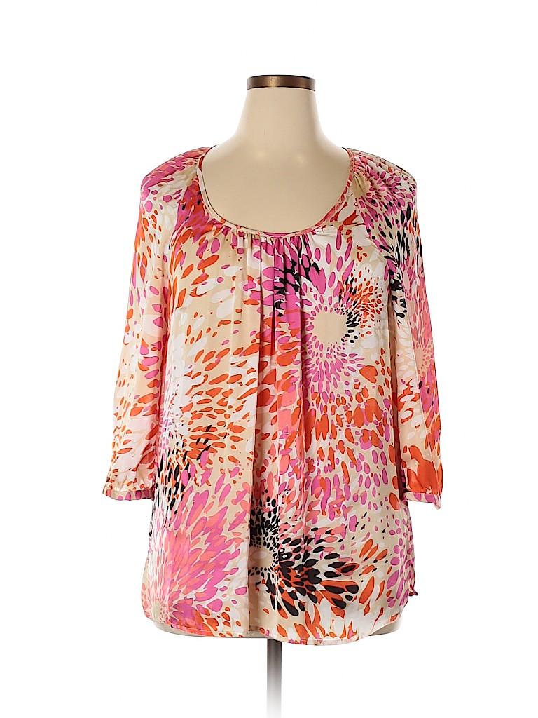 Avenue Studio Women 3/4 Sleeve Blouse Size 14 - 16
