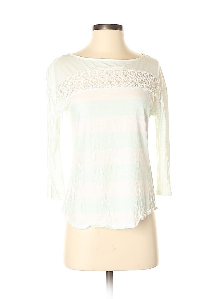 Lauren Conrad Women 3/4 Sleeve Top Size XS