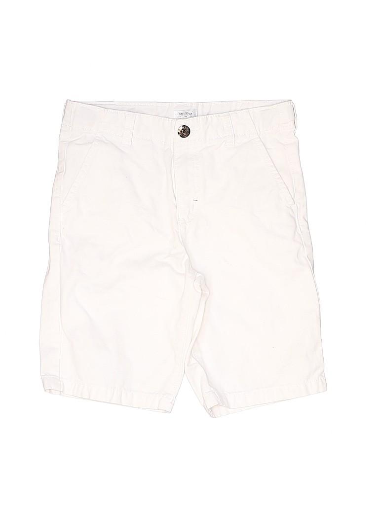 Dressed Up by Gymboree Girls Khaki Shorts Size 10