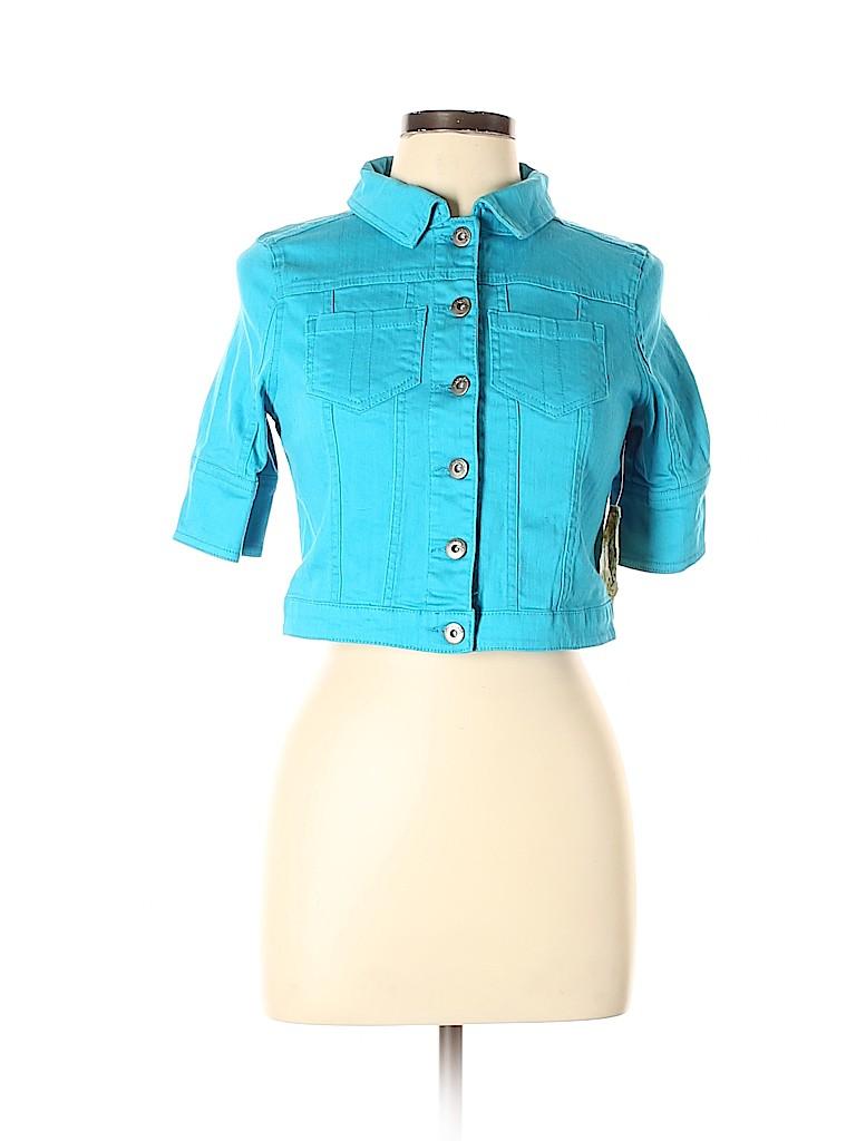 One World Women Denim Jacket Size XS