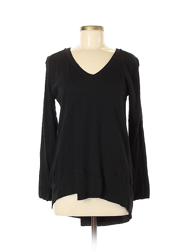 Andrea Jovine Women Long Sleeve T-Shirt Size M