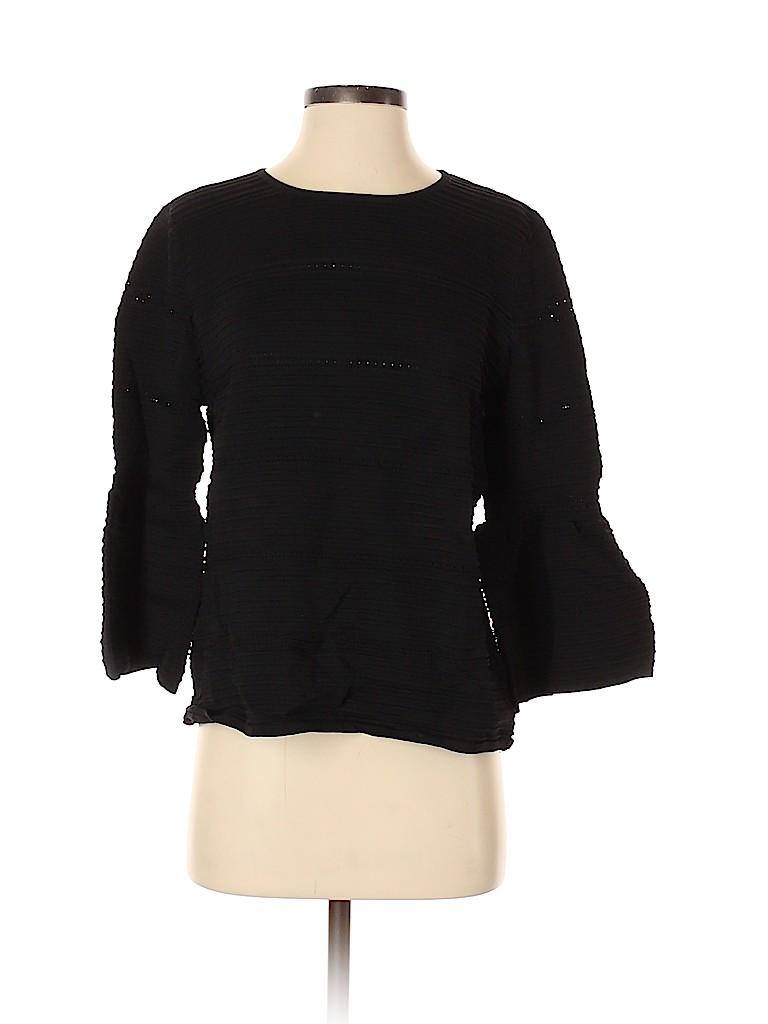 Renee C. Women 3/4 Sleeve Top Size S