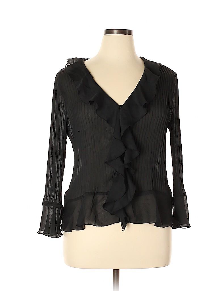 Sunny Leigh Women Long Sleeve Blouse Size XL