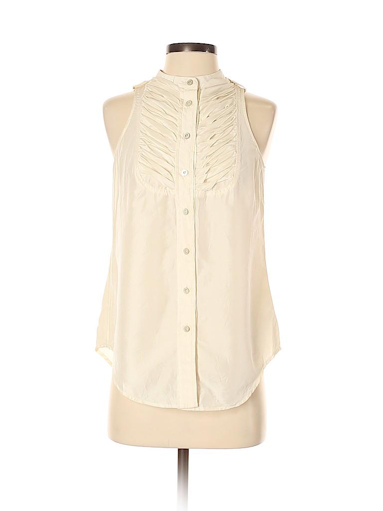 Martin + Osa Women Sleeveless Silk Top Size 4