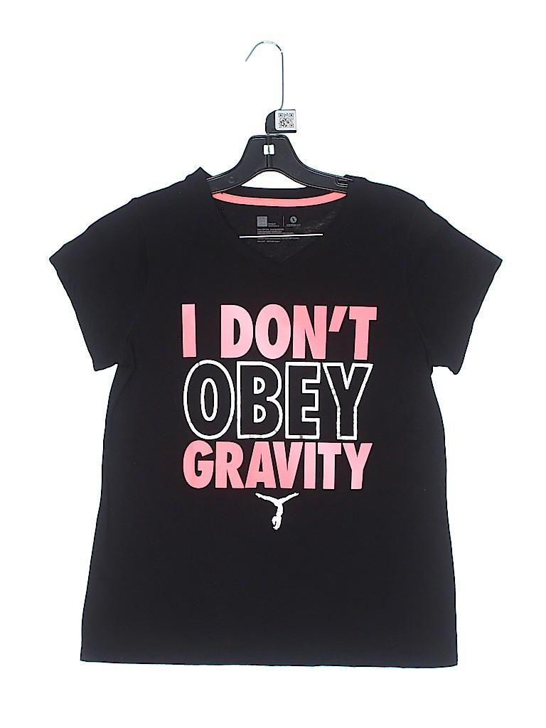 Xersion Girls Short Sleeve T-Shirt Size 20 (Plus)
