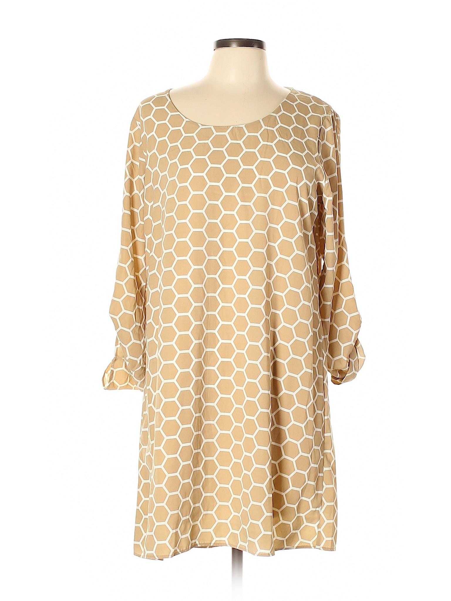 80c81a8ebdba NWT Charming Charlie Women Brown Casual Dress Lg   eBay