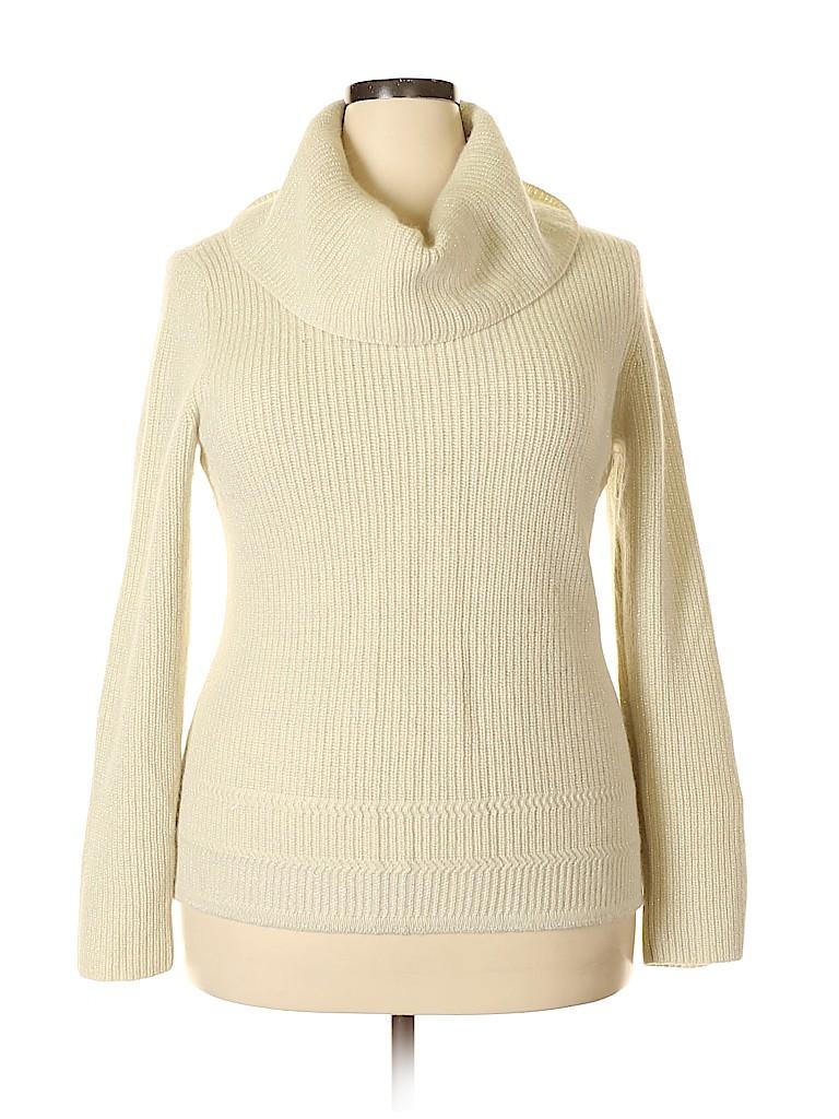 Lauren by Ralph Lauren Women Wool Pullover Sweater Size XL