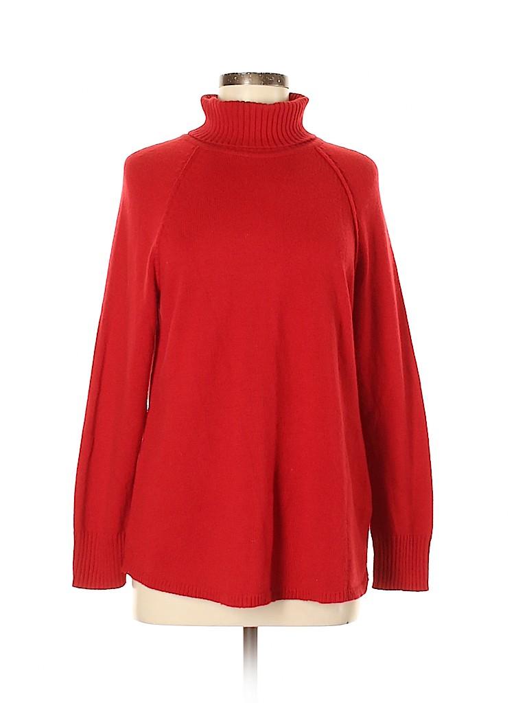 J.jill Women Turtleneck Sweater Size M