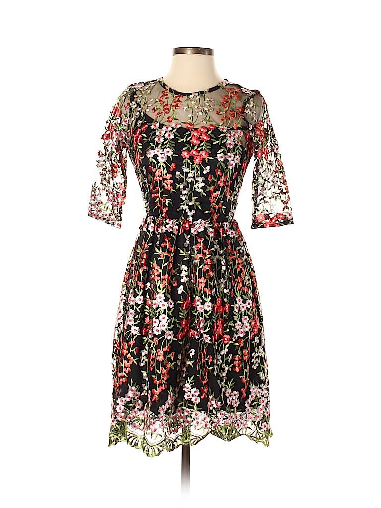 Club L Women Casual Dress Size 34 (EU)