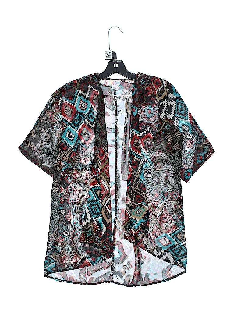 Lularoe Girls Kimono Size 10