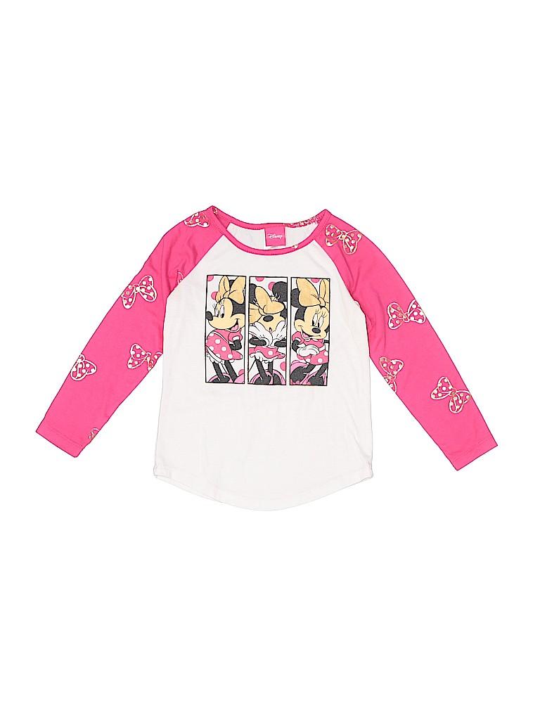 Disney Girls Long Sleeve T-Shirt Size 4 - 5