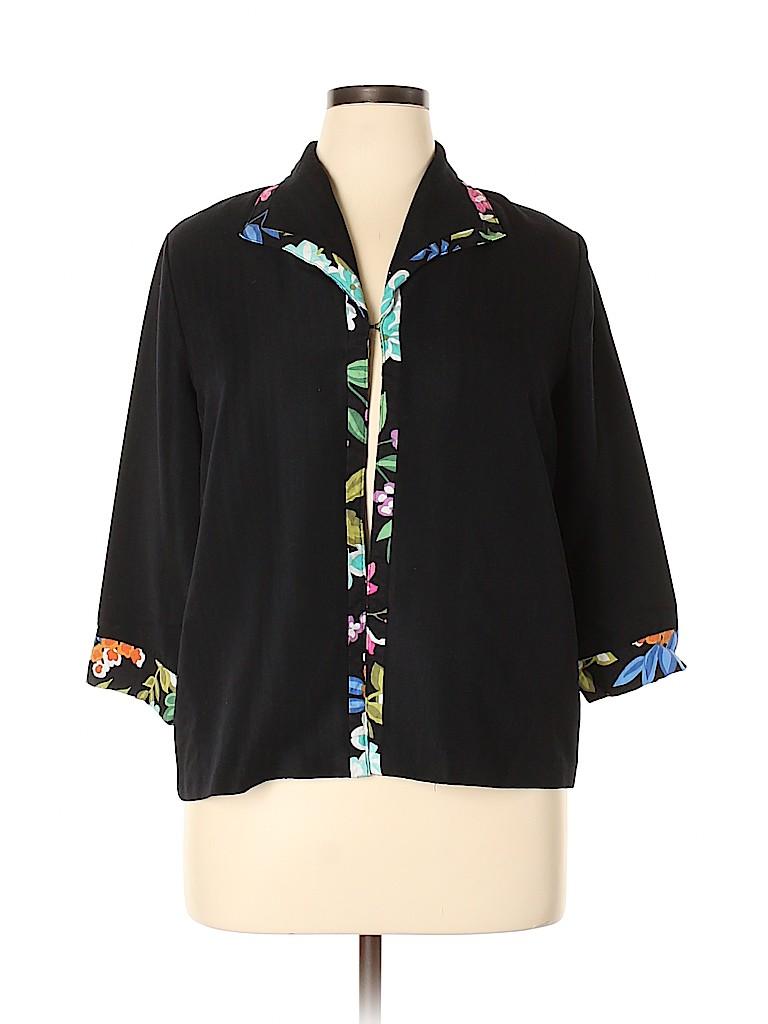 Alfred Dunner Women Jacket Size 14 (Petite)