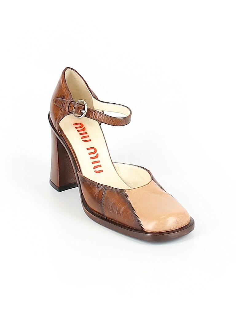 Miu Miu Women Heels Size 36 (EU)
