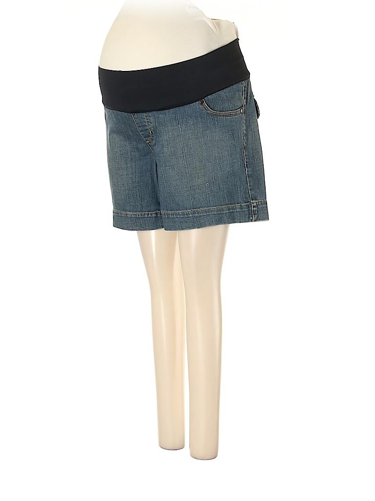 Liz Lange Maternity Women Denim Shorts Size XS (Maternity)