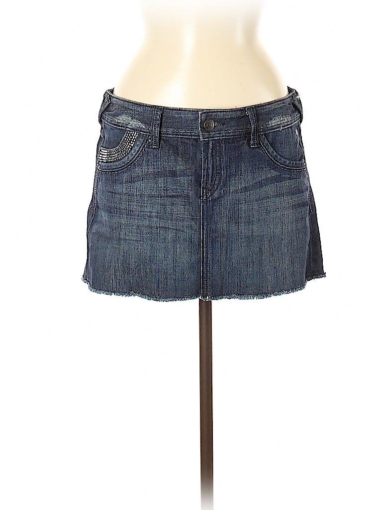 Express Jeans Women Denim Skirt Size 6