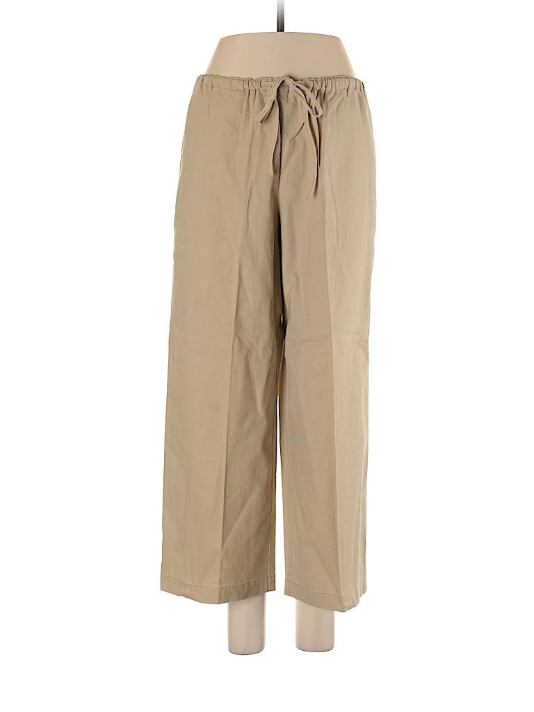 Liz Claiborne Women Linen Pants Size M