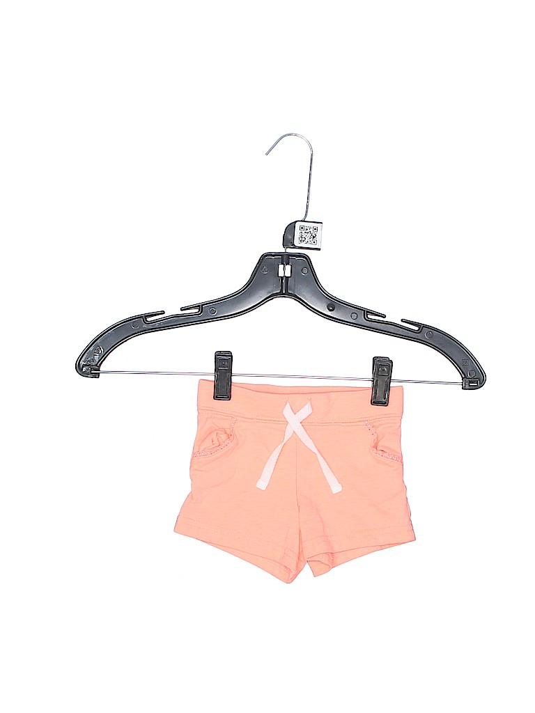 Carter's Girls Khaki Shorts Size 12 mo