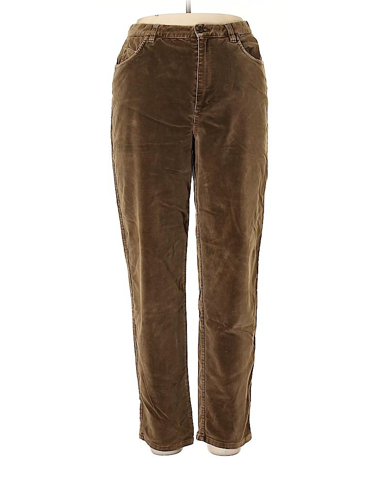 Jones New York Women Velour Pants Size 14