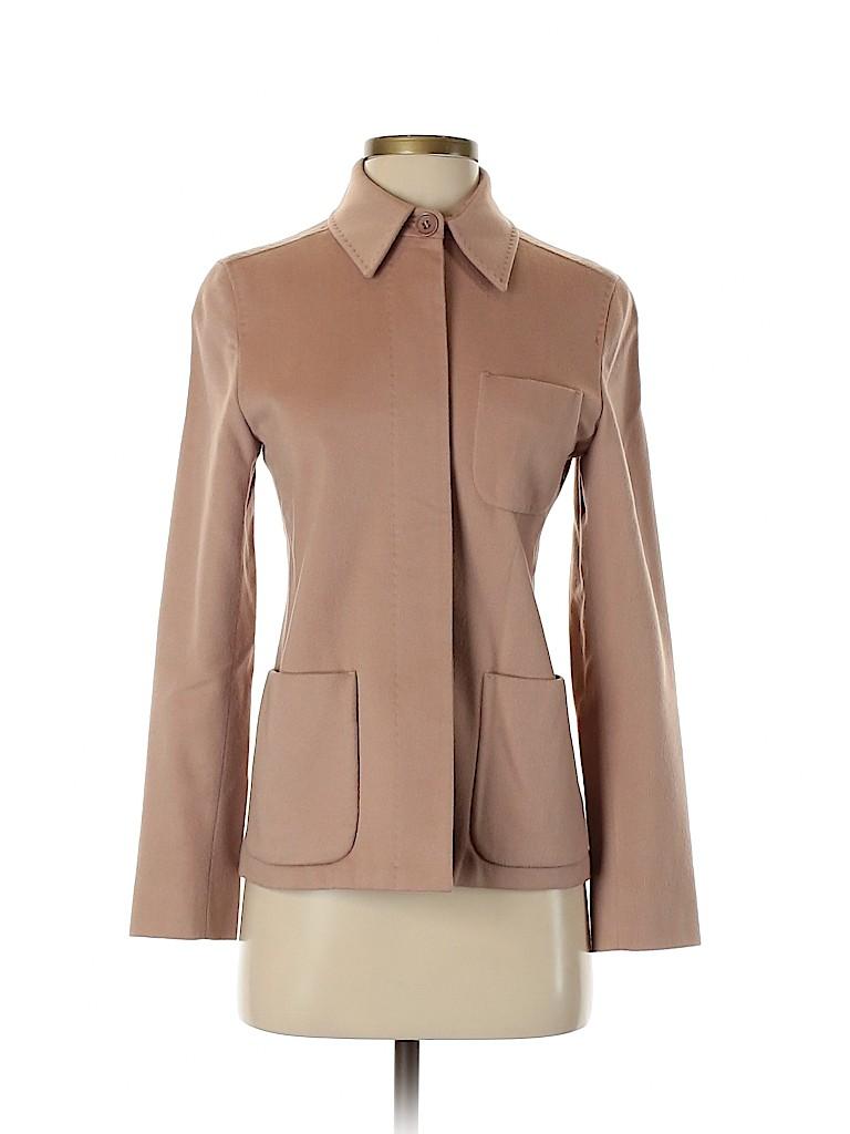 Max Mara Women Wool Blazer Size 2