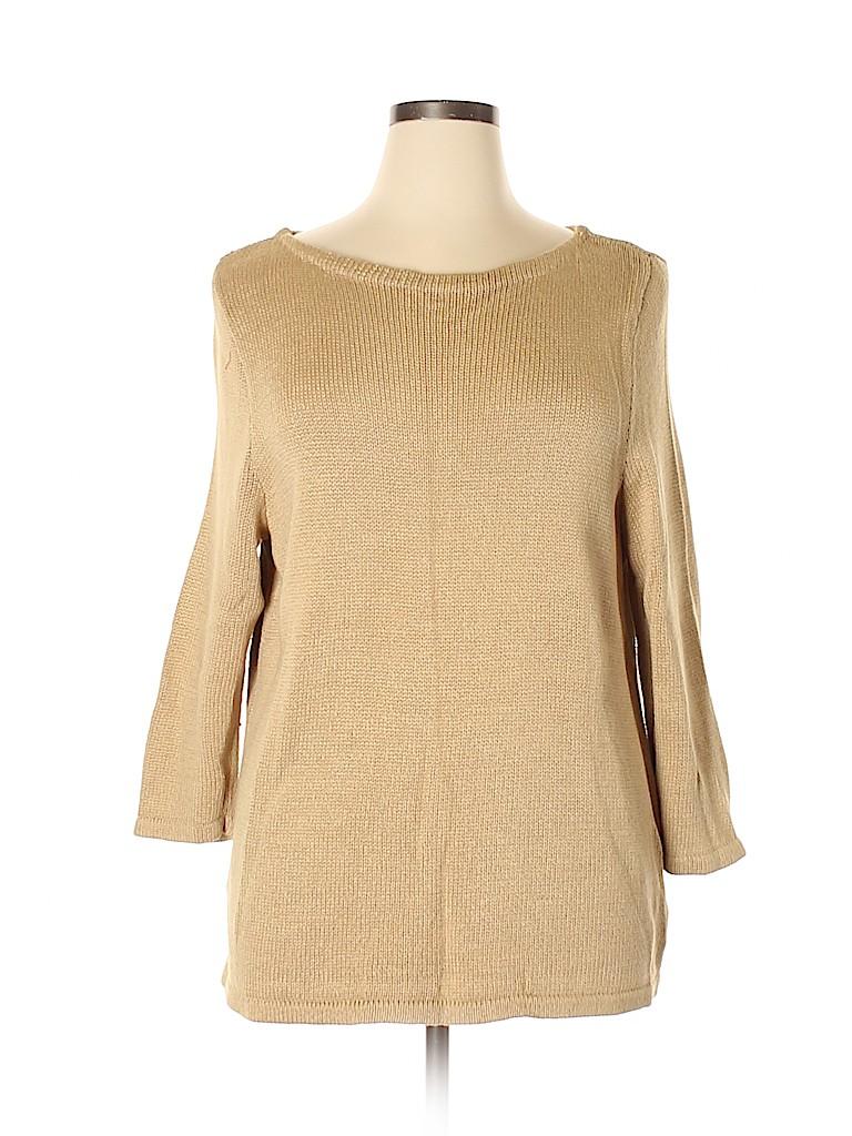 Lauren by Ralph Lauren Women Pullover Sweater Size 2X (Plus)