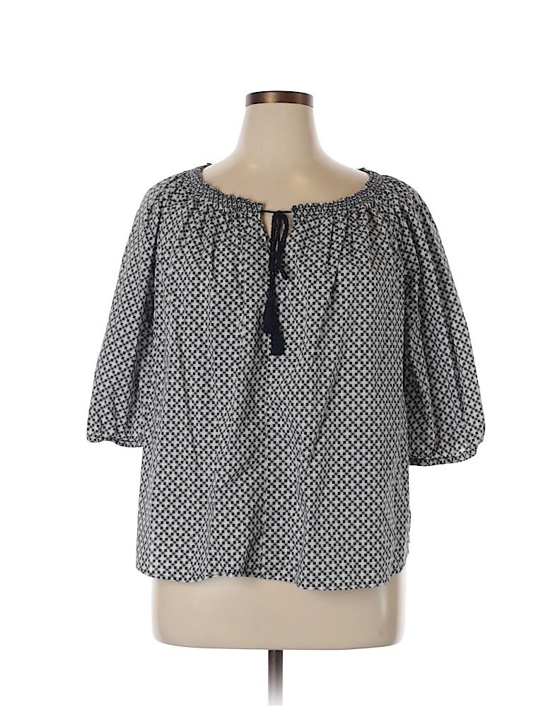 Joe Fresh Women 3/4 Sleeve Blouse Size XL