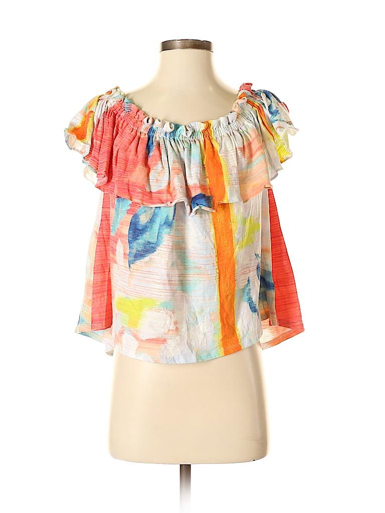 Meadow Rue Women Short Sleeve Top Size XS